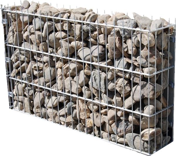 gabione steinkorb gabionenkorb 1m x0 6m nur 20cm breit. Black Bedroom Furniture Sets. Home Design Ideas