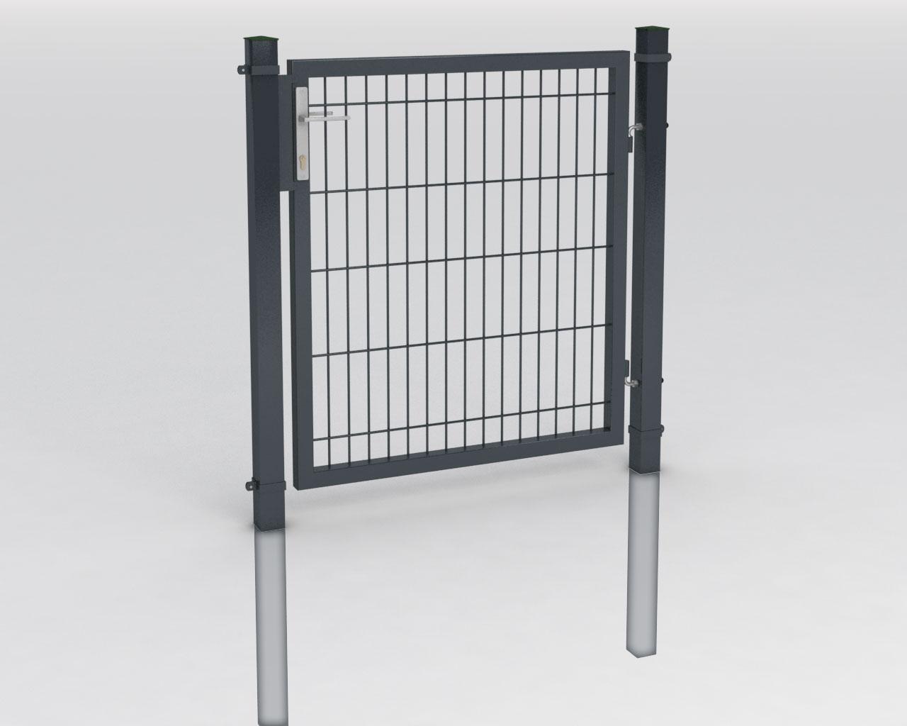 Hart PVC Sichtschutzstreifen für Doppelstabmatten Guck Nich