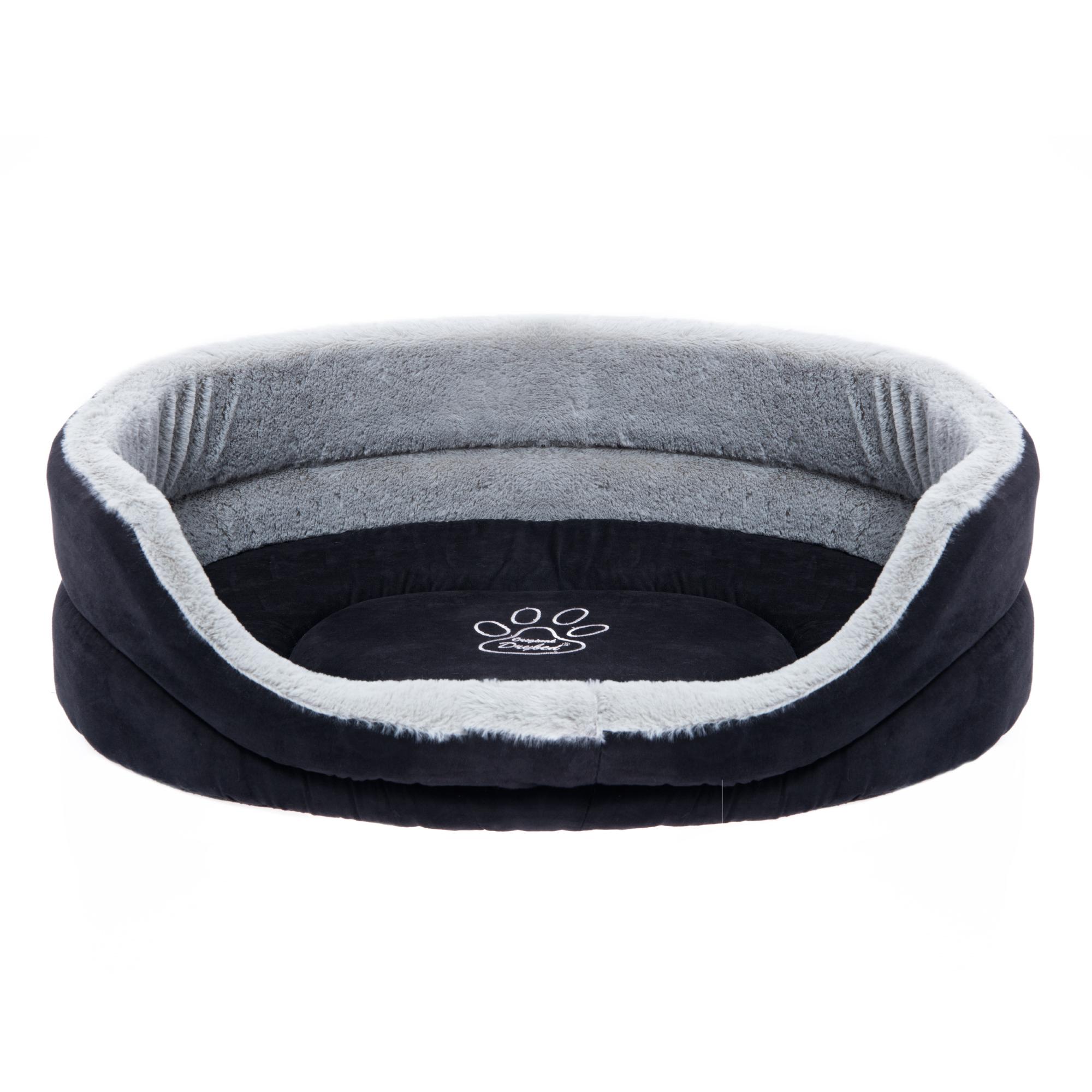 Drybed Hundekörbchen schwarz / grau Gr. S 60cm Nr. 012N