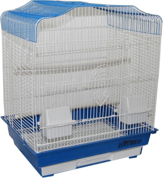 drybed vogelk fig wellensittich vogel k fig blau weiss ebay. Black Bedroom Furniture Sets. Home Design Ideas