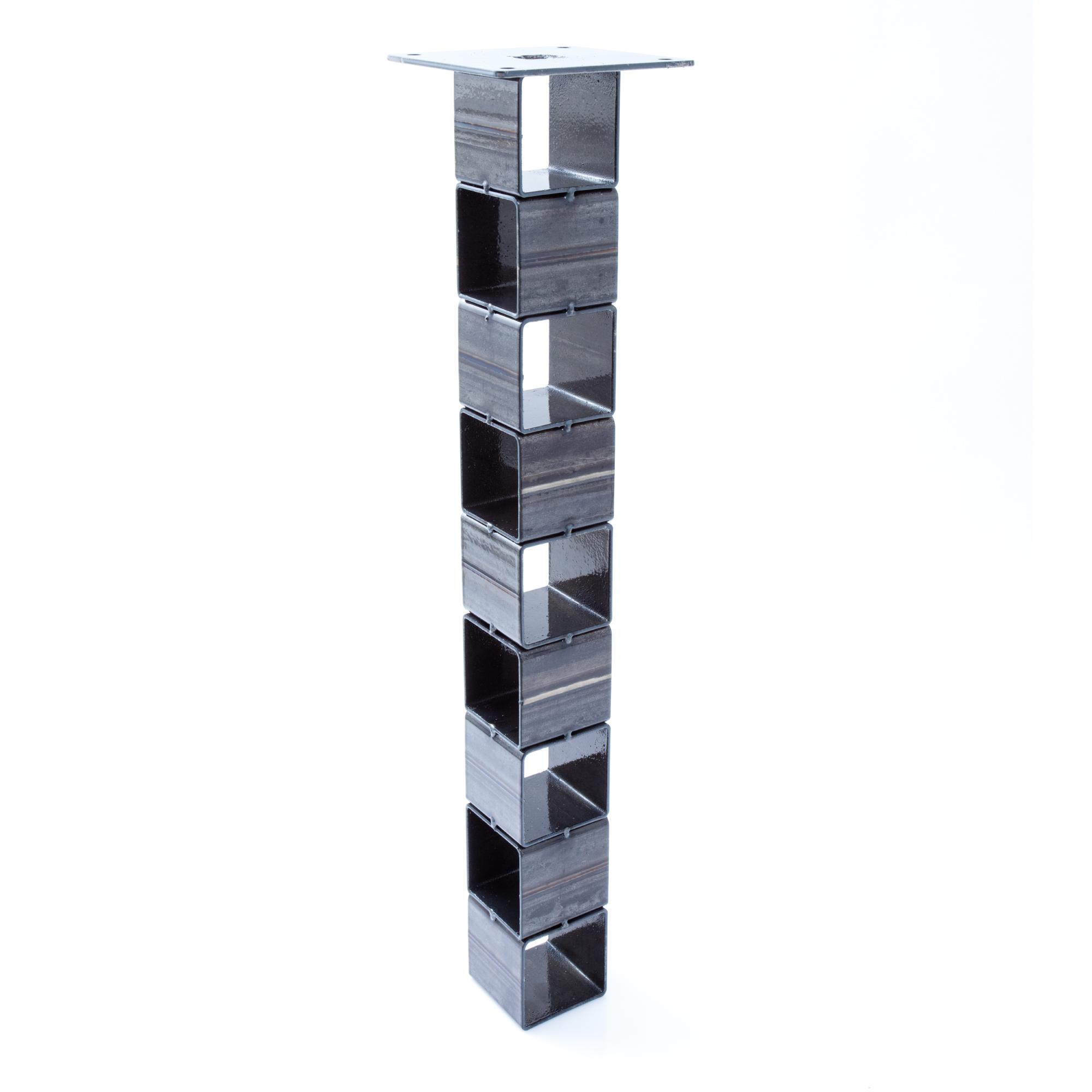 2x tischbein tisch selber bauen bausatz tischgestell loft eisen steel designer ebay. Black Bedroom Furniture Sets. Home Design Ideas