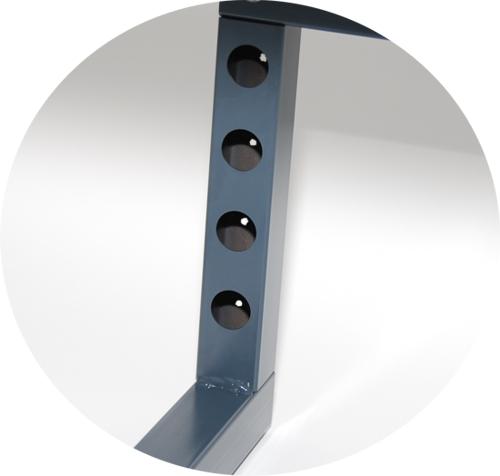 Werkbank arbeitstisch werktisch packtisch tischgestell for Montage arbeitsplatte