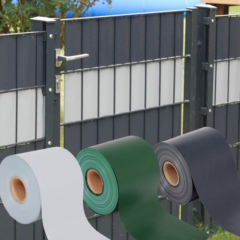 Sichtschutz-Guck-Nich-Blickdicht-fuer-Doppelstabmatten-Zaun-PVC-Zaunblende-Zaeune